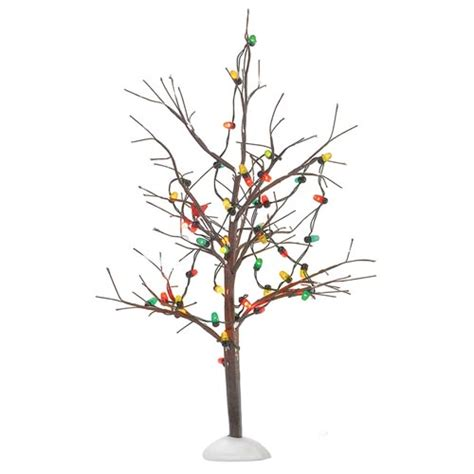 lighted christmas bare branch tree 56 53193 15 00