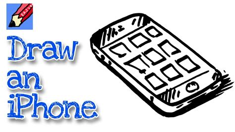 draw  iphone real easy  kids  beginners