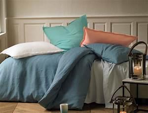 Linge De Lit En Lin : linge de lit un autre lin ~ Melissatoandfro.com Idées de Décoration