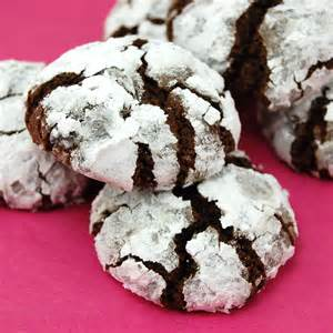 Black Forest Chocolate Crinkle Cookies