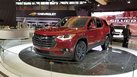 chevrolet traverse latest news reviews specifications
