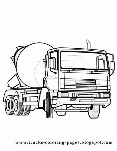 Coloring Truck Pages Trucks Pickup Chevy Printable