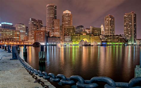 Boston Skyline Wallpapers - Wallpaper Cave