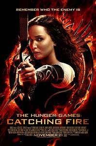 The Hunger Games: Catching Fire Poster - HeyUGuys