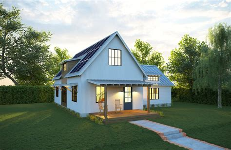 deltec solar farmhouse exterior inhabitat green design