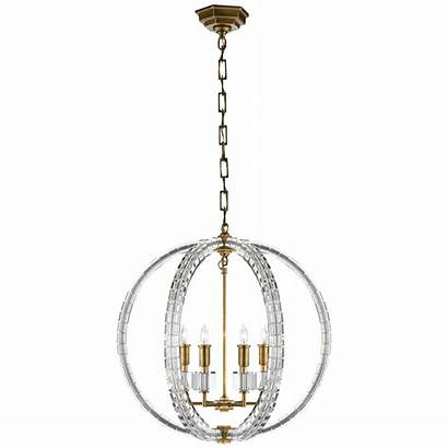 Crystal Chandelier Cube Spherical Brass Lighting Comfort