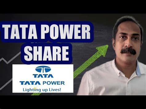 Live bse/nse, f&o quote of tata power company ltd. Tata power share latest news   share tips - YouTube