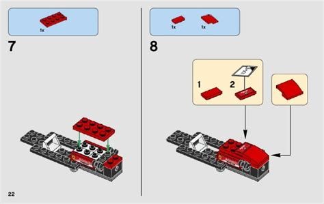 Lego instructions from thema speed champions online. LEGO 75879 Scuderia Ferrari SF16-H Instructions, Speed Champions