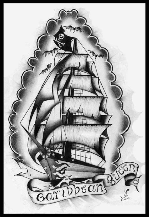 18+ Sailor Ship Tattoo Designs