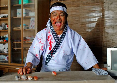 Faint Of Heart Be Warned Presenting Dead Sushi