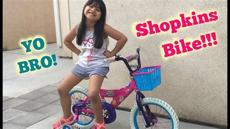 Yo Bro! Look At This Shopkins Bike!