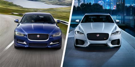 jaguar xe  xf great british saloon brawl carwow