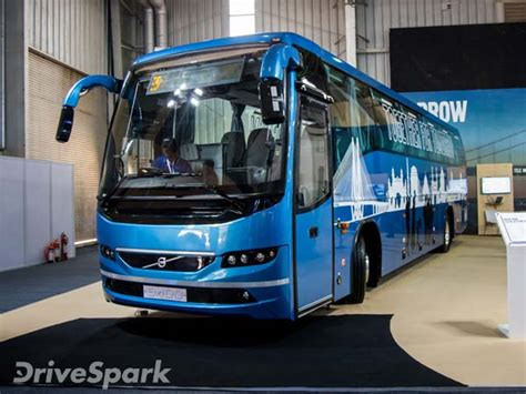 volvo launches  intercity buses  india drivespark news