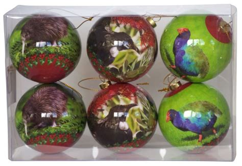 New Zealand Bird Christmas Decorations
