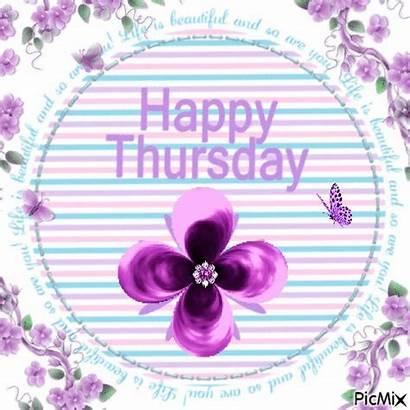 Thursday Happy Violet