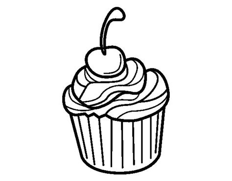 Cherry Chocolate Coloring Page