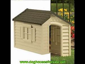 suncast dog house removable roof youtube With suncast dh250 dog house