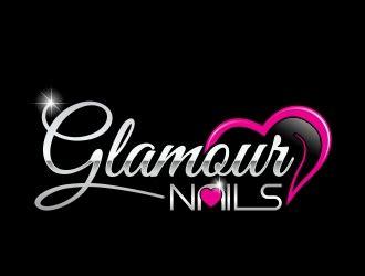 Glamour Nails logo design - 48HoursLogo.com