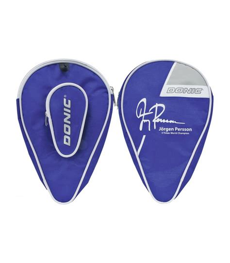 housse de raquette de ping pong housse pour raquette de ping pong donic persson silver equipment