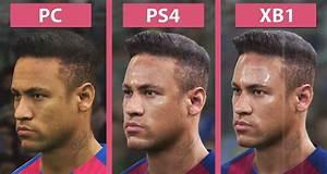 PES 2017 PC Vs PS4 Vs Xbox One Graphics Comparison