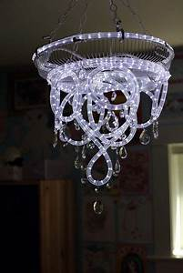 103 best fun lighting projects diy images on pinterest for Interior rope lighting ideas