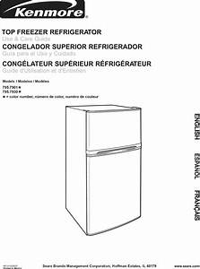 Kenmore 79579302901 User Manual Refrigerator Manuals And