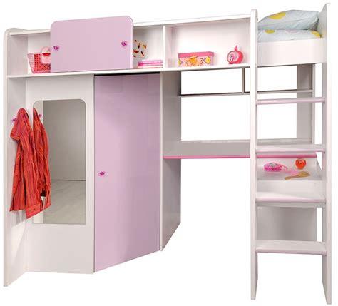 lit combine bureau fille lit combine bureau fille maison design wiblia
