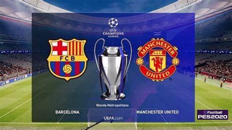 PES 2020 | Final UEFA Champions League - UCL | Barcelona ...