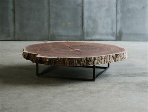 wood slice coffee table tree slice coffee table sold by usona furniture pinterest