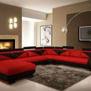 le gros coussin pour canape en 40 photos With couleur chaleureuse pour salon 15 que faire avec un rondin de bois idees en photos