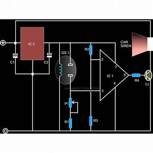 Circuit Diagram For Voltage Regulator  Amp Variable Power