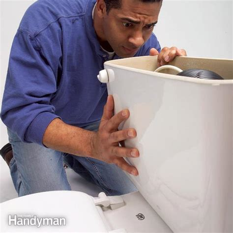 my toilet won t flush toilet repair the family handyman