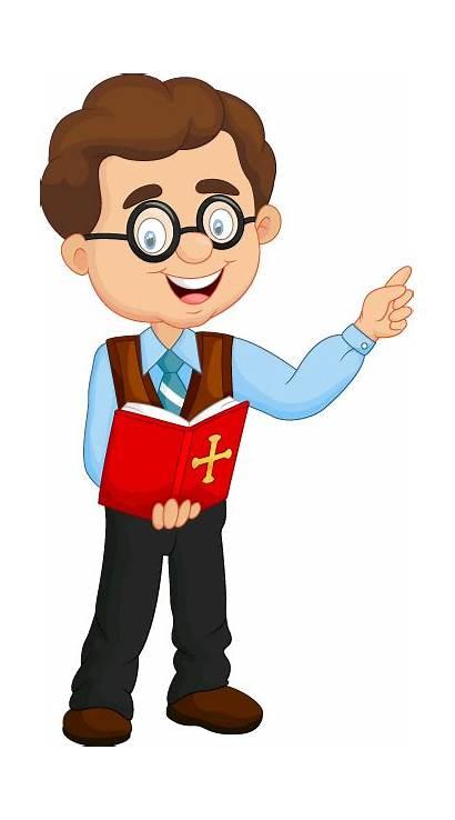 Teacher Male Religion Cartoon Story Clipart Teaching