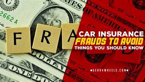 Car Insurance Fraud To Avoid