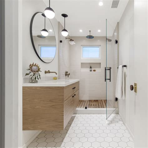 impressive mid century modern bathroom designs