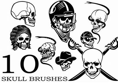 Skull Brush Pack Photoshop Brushes Non Brusheezy