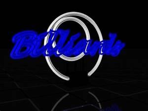 neon sign billiards c4d free