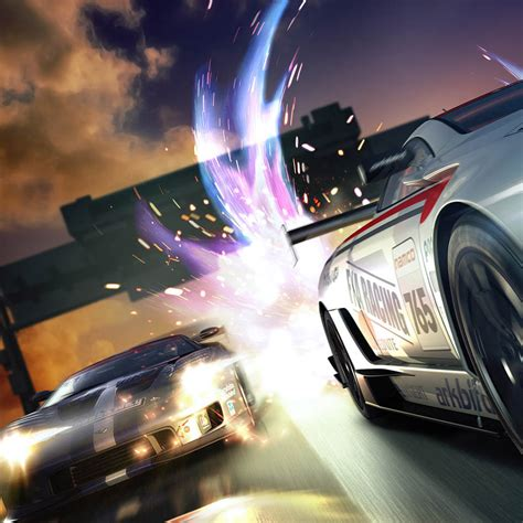 Racing Cars Ipad Wallpaper, Background And Theme