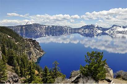 Crater Lake Oregon Wallpapers Desktop Nature Nice