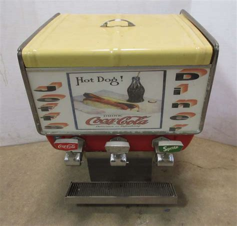 How to make coca cola sprite dispenser at home from cardboard. Albrecht Auctions | Coca-Cola Fountain Dispenser