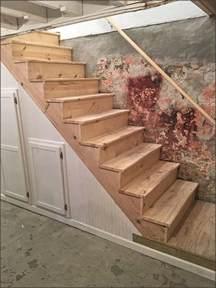 basement stair replacement  st paul vanvleet construction