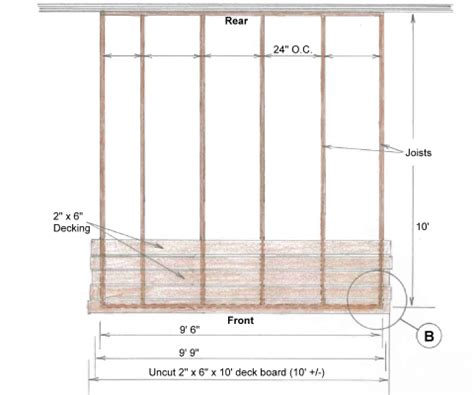 10x10 Deck Plans Free by Pdf How To Build A 10x10 Wood Deck Plans Free