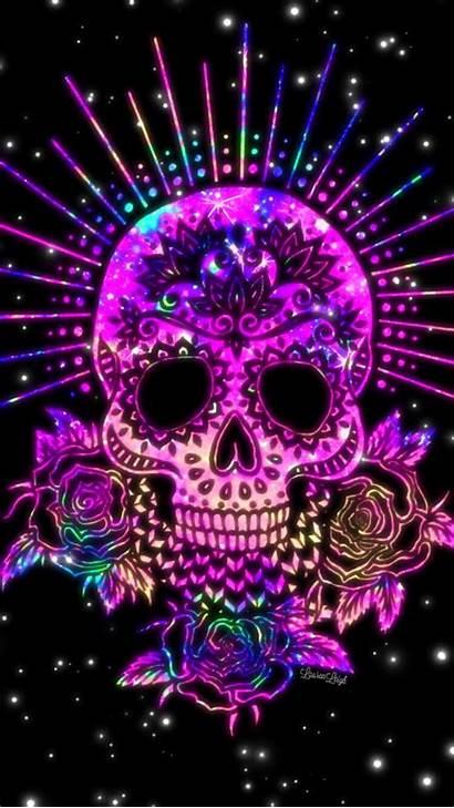 Skull Sugar Skulls Pink Dead Wallpapers Dia