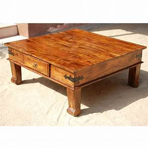 solid wood square drawer sofa cocktail coffee table living With real wood square coffee table