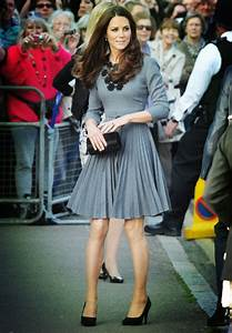 Kate Middleton Inspired Gray Short Party Cocktail Dress ...