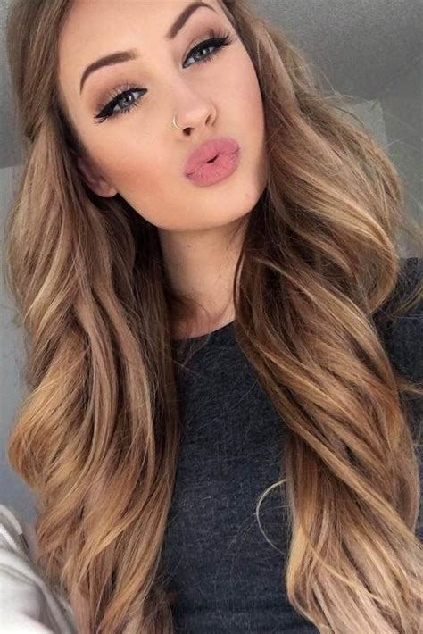 15 Collection Of Long Hairstyles Colors