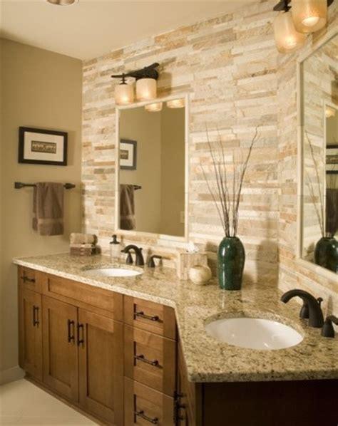 backsplash bathroom ideas magnificent venetian gold granite look chicago