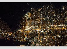 A Nighttime View of Salt Lake City, Utah NASA