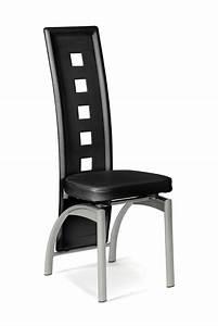 Chaise eve noir for Meuble salle À manger avec chaise cuisine noire