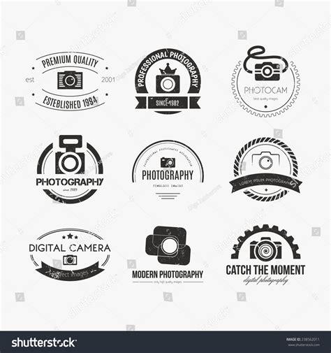 vector collection  photography logo templates photocam